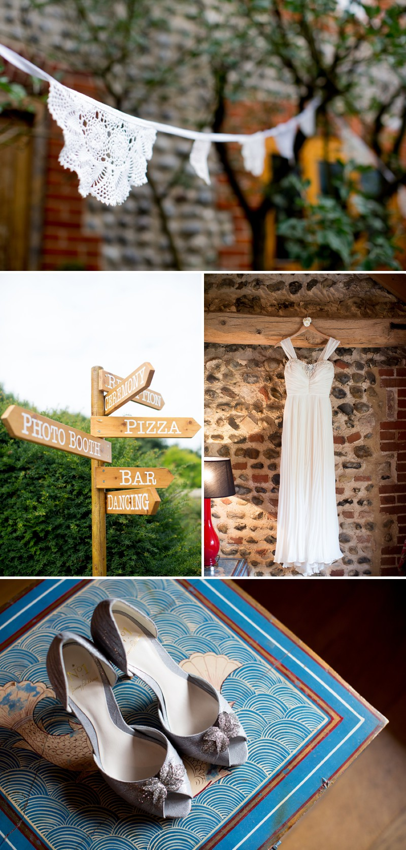 A Romantic Wedding At Chaucer Barn With A Blue Origami Cranes Theme And A Theia Wedding Dress With A White Rose And Peony Bouquet Photographed By Katherine Ashdown._0002