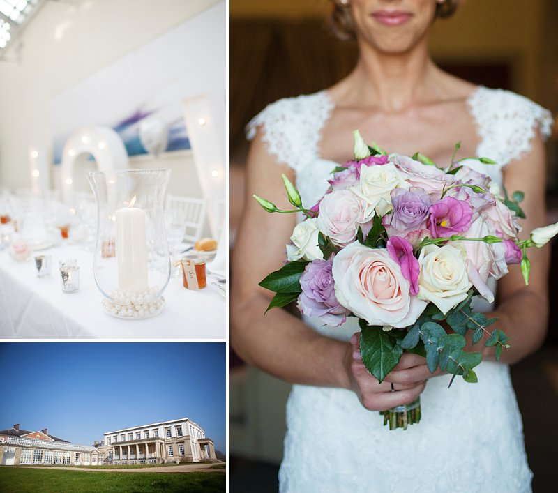 A relaxed and stylish wedding at Buxted Park with pastel palette colour scheme fishtail wedding dress by Benjamin Roberts and groom suit by Reiss and wedding photography by  AnnaMarie Stepney_0001