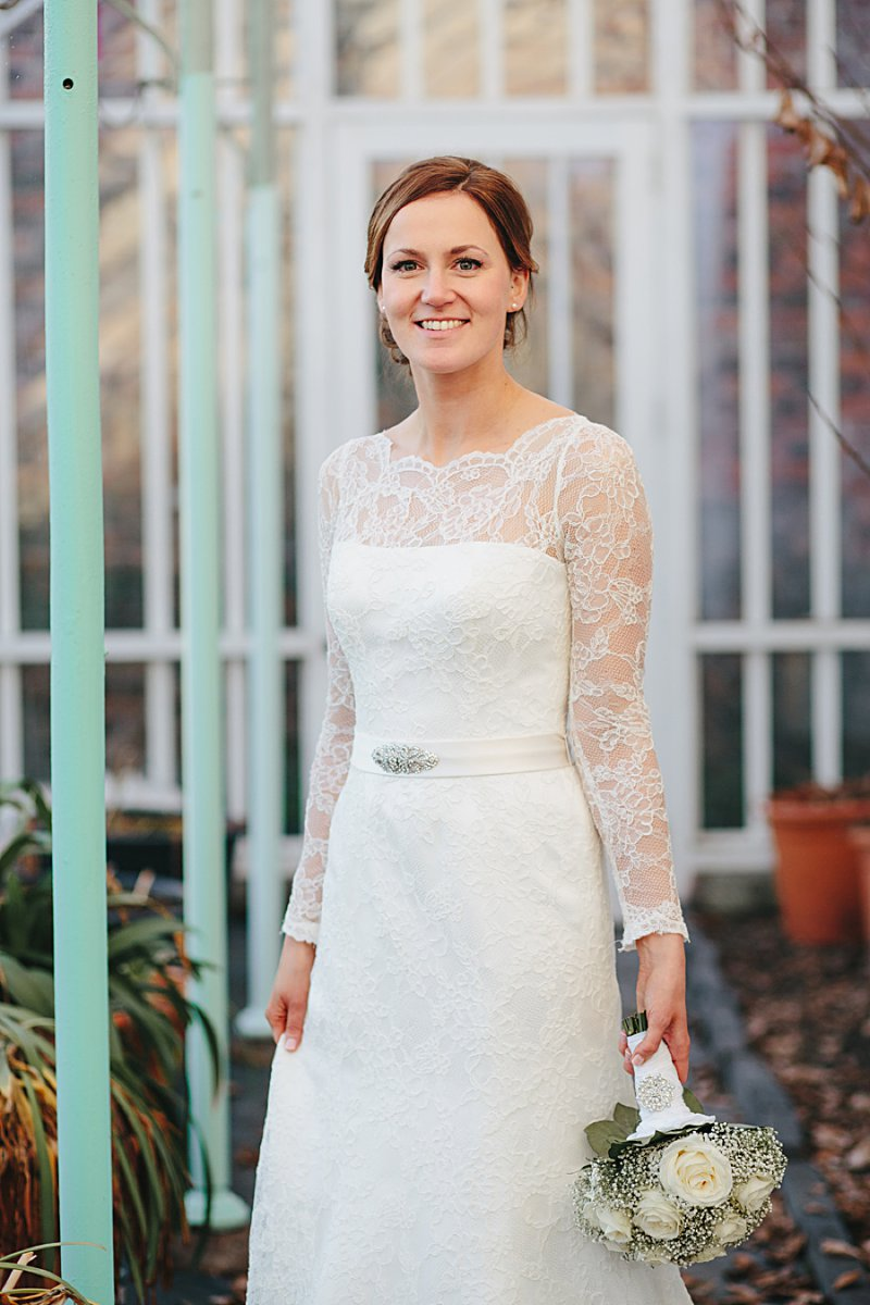 A winter wedding with Augusta Jones dress, bridesmaid dresses from Monsoon and photography by John Hope_0010