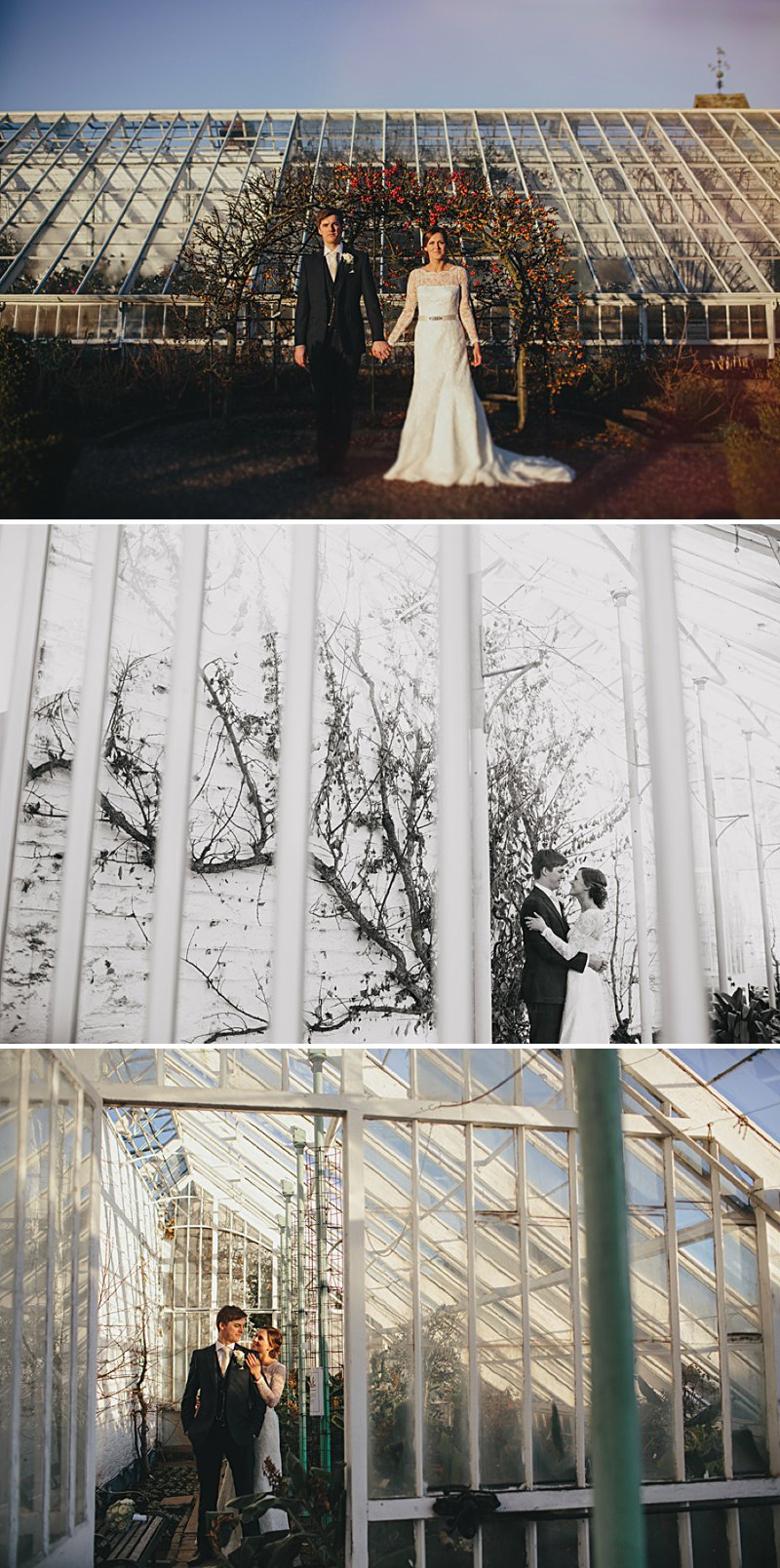 A winter wedding with Augusta Jones dress, bridesmaid dresses from Monsoon and photography by John Hope_0011