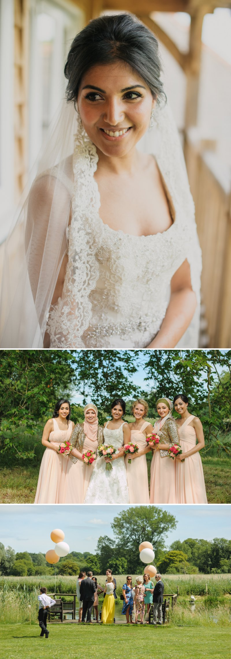 Elegant Tipi Wedding At Houghton Lodge In Hampshire With An Iraqi Bride In Lace Justin Alexander Gown With A Lace Edged Veil And Groom In Blue Three Piece Suit From Reiss With Bridemaids In Pink 1