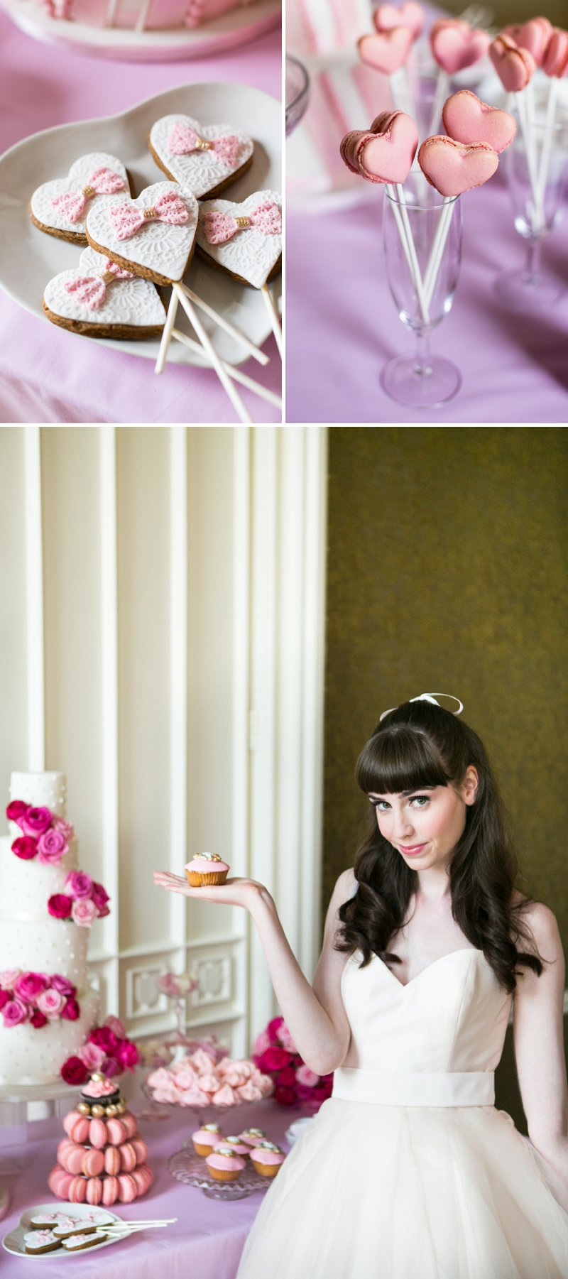 Fun Girly Bridal Inspiration Shoot At Nonsuch Mansion Inspired By Holly Golightly With Bright Pink Details A Vintage Wedding Car With Images by Anneli Marinovich Photography 5