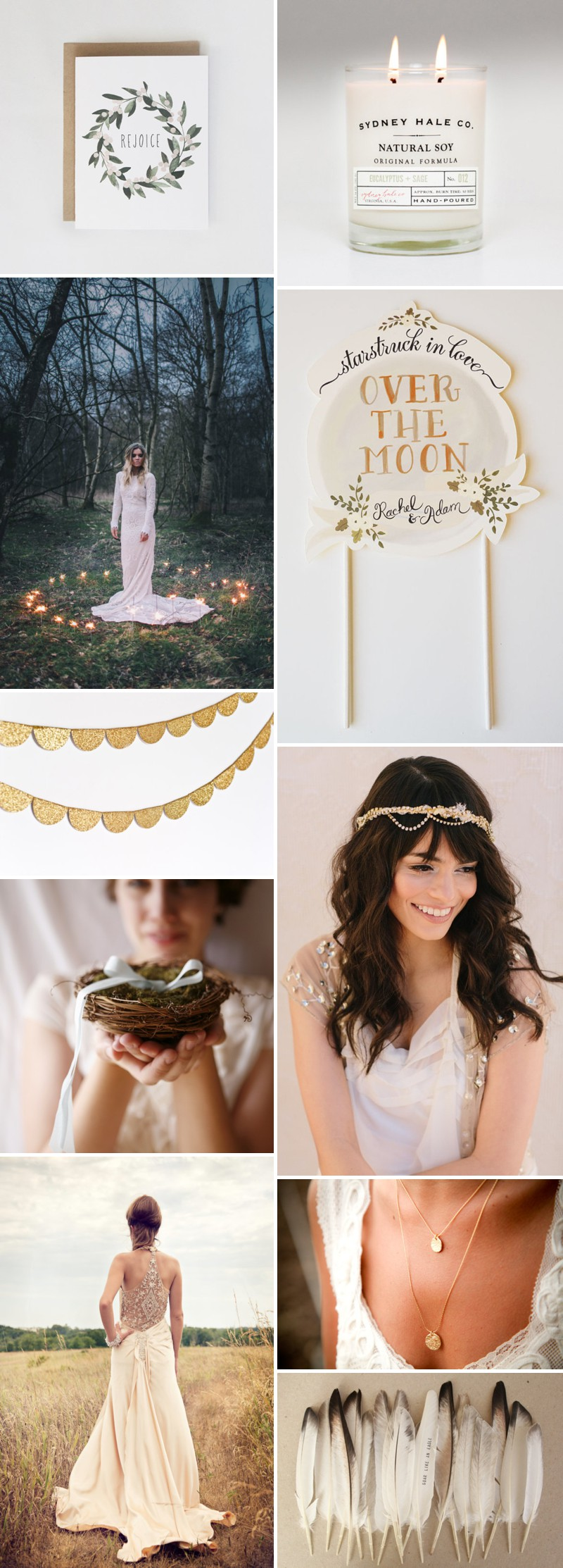 How To Create A Midsummer Night's Dream Inspired Wedding Using Products From Etsy._0002
