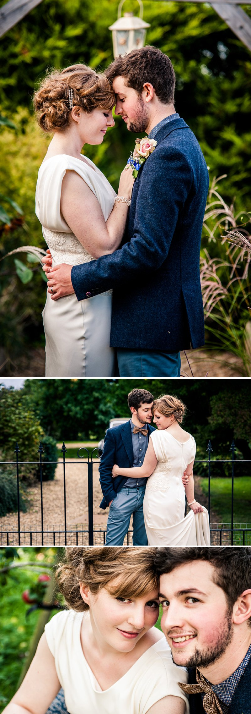 Rustic Backyard Wedding With Bride In Elegant Rapsimo Dress And Groom In Wool Suit And Bowtie With Lots Of Home Made Details And A High Tea Wedding Breakfast 11