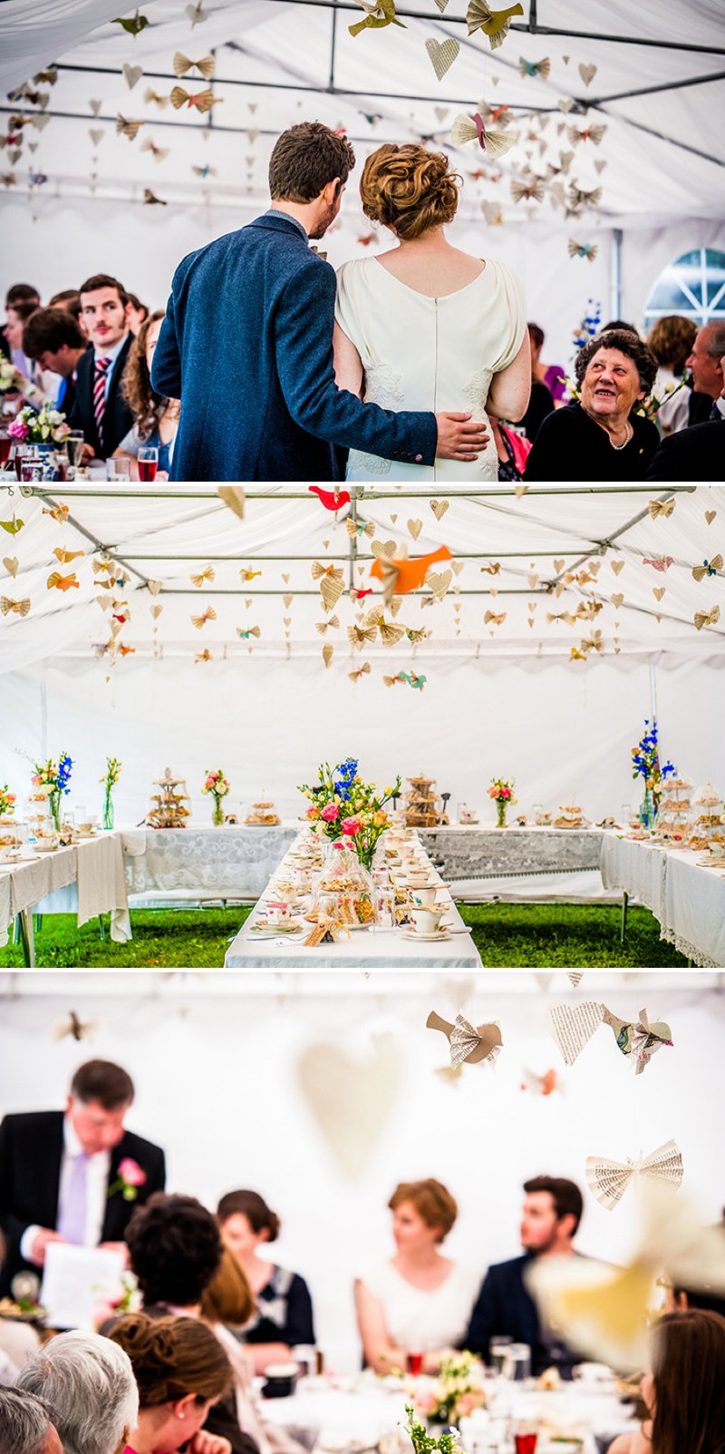Rustic Backyard Wedding With Bride In Elegant Rapsimo Dress And Groom In Wool Suit And Bowtie With Lots Of Home Made Details And A High Tea Wedding Breakfast 8