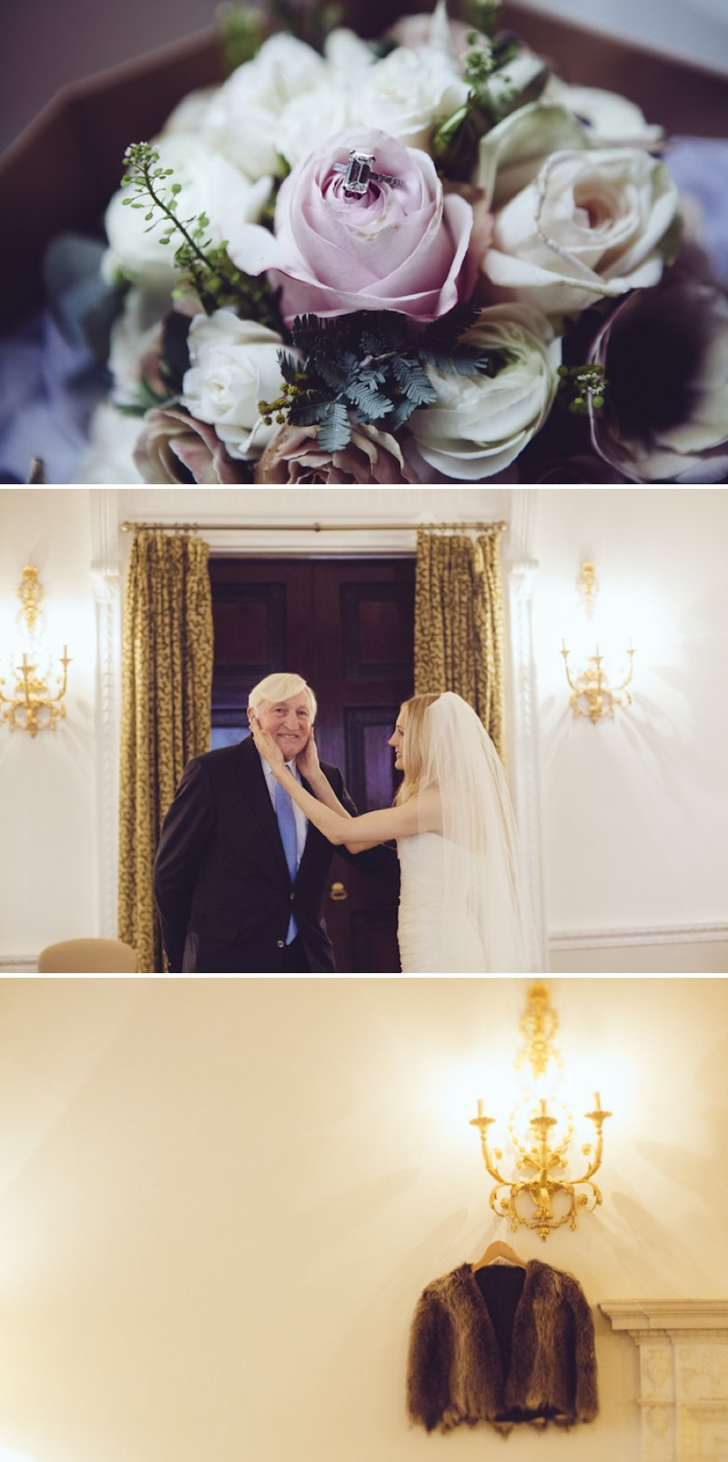 Sophisticated London Wedding At Chandos House With Reception And Dinner At Corrigan's Mayfair With Bride In Peter Langner Gown With Brian Atwood Shoes And Groom In Bespoke Thom Sweeney Suit With Flowers By Scarlet And Violet 2