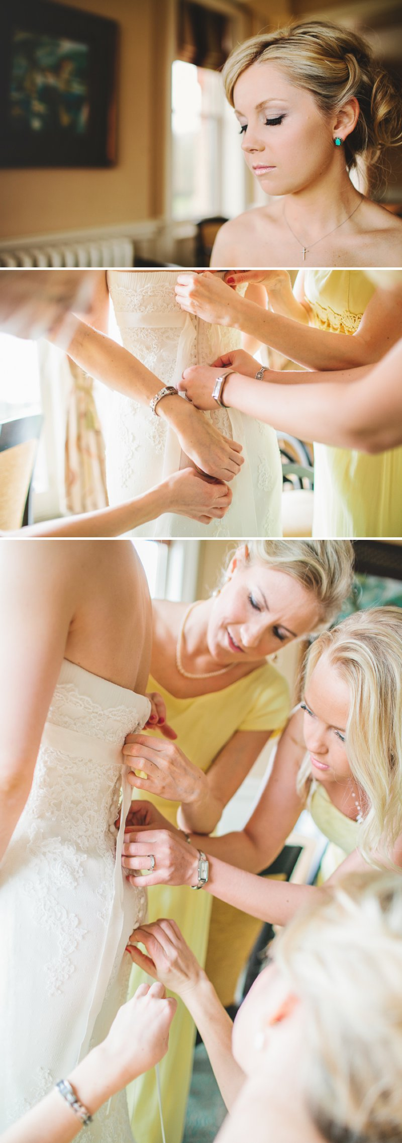 Yellow Themed Vintage Inspired Easter Wedding At Pembroke Lodge Richmond Park With Bride In Balira By Pronovias And Burberry Sandals With Groom In Blue Reiss Suit And Bridesmaids In Yellow Vintage Dresses With Images By Shell De Mar 2