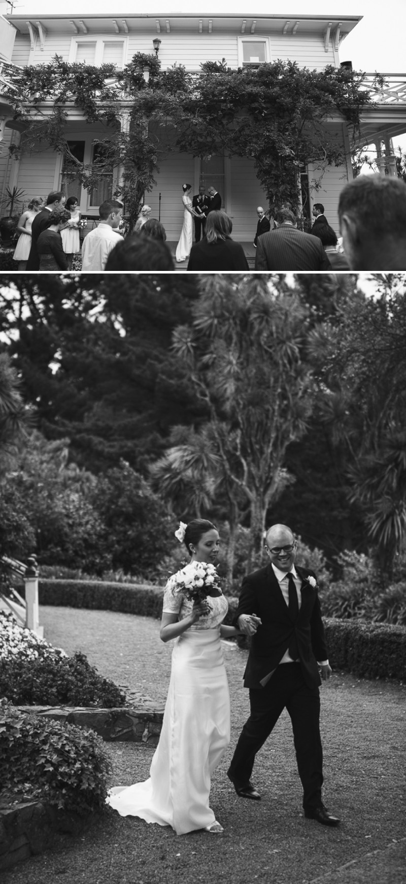 A Destination Black Tie Wedding At Gear Homestead In New Zealand With A Neutral Colour Scheme and A White Rose Bouquet By Tim Williams Photography._0006