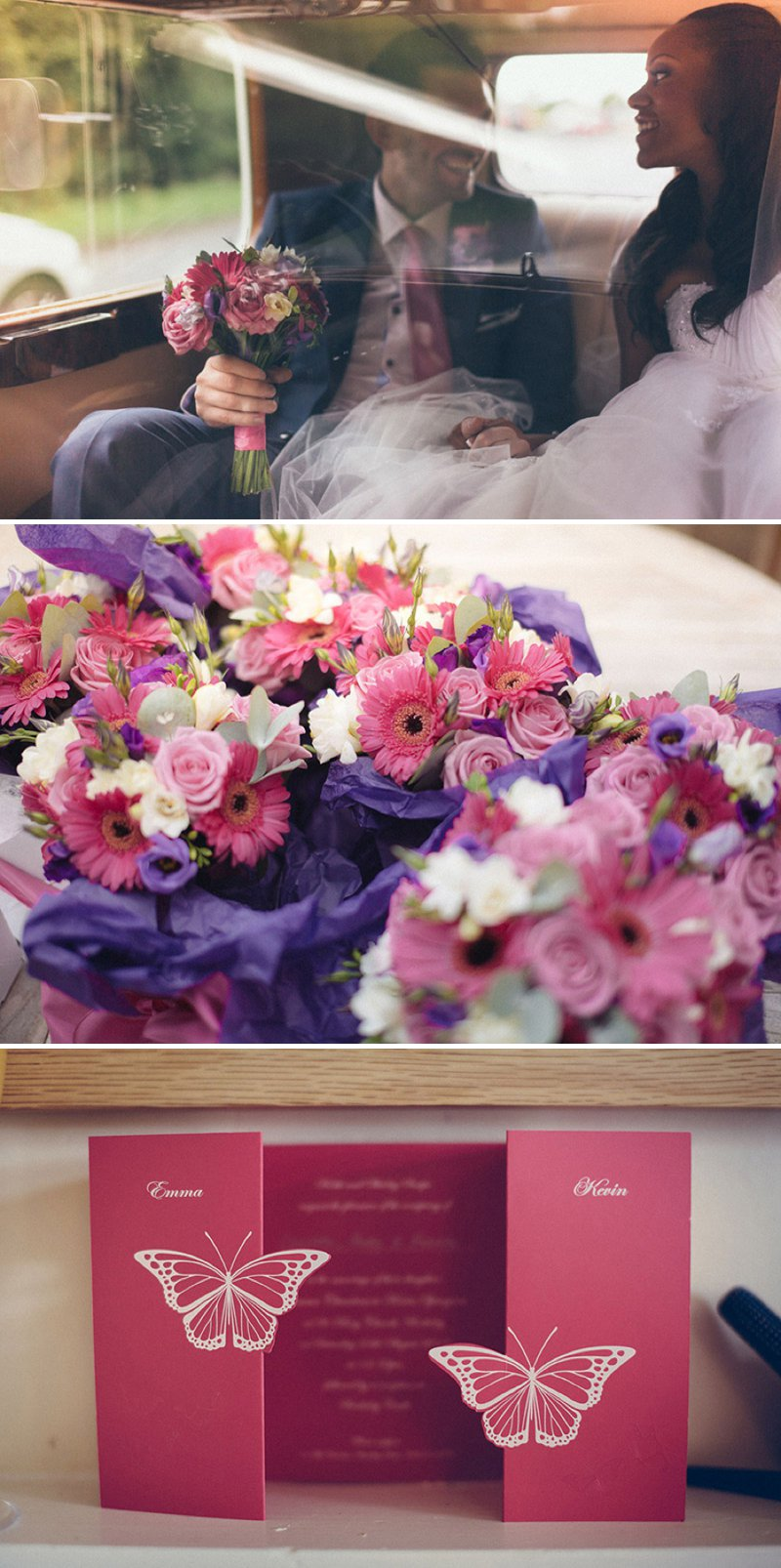 A Fairytale Castle Wedding At Berkeley Castle In Gloucestershire With Bride In Chardonnay By Maggie Soterro And Groom In Reiss With A Fushcia Pink And Cadbury Purple Colour Scheme And Images From Joseph Hall Photography 1