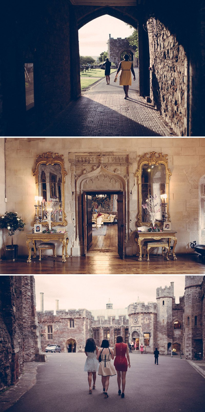 A Fairytale Castle Wedding At Berkeley Castle In Gloucestershire With Bride In Chardonnay By Maggie Soterro And Groom In Reiss With A Fushcia Pink And Cadbury Purple Colour Scheme And Images From Joseph Hall Photography 10