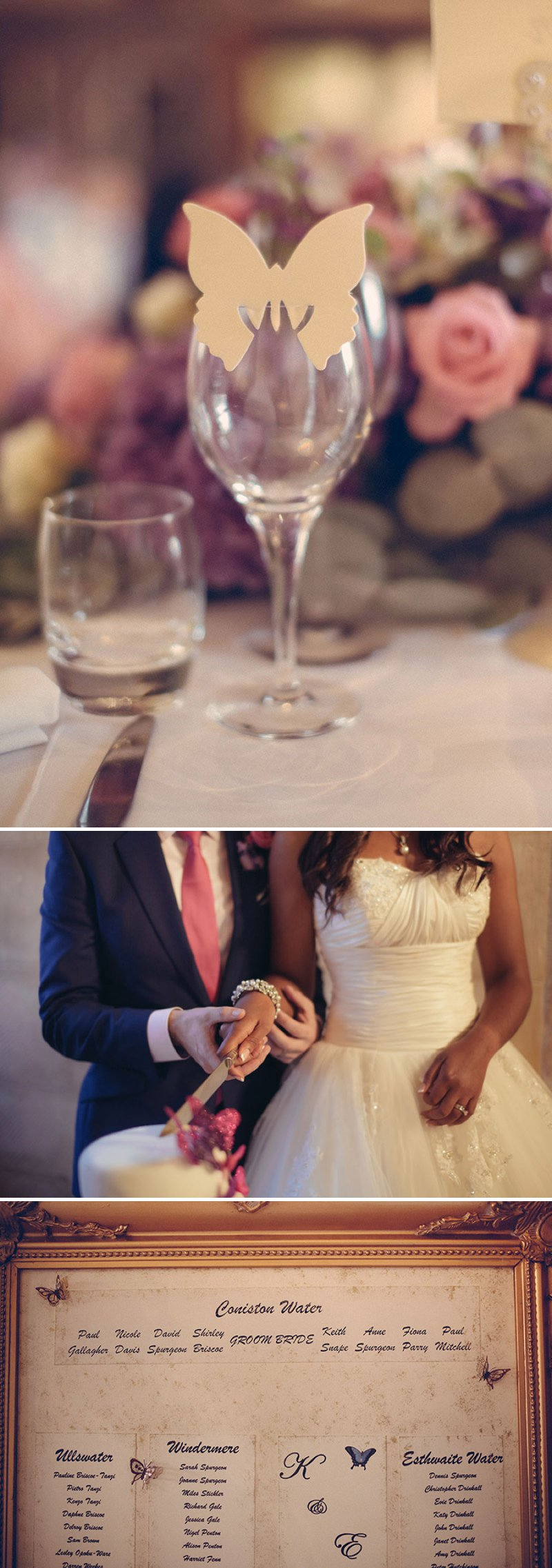 A Fairytale Castle Wedding At Berkeley Castle In Gloucestershire With Bride In Chardonnay By Maggie Soterro And Groom In Reiss With A Fushcia Pink And Cadbury Purple Colour Scheme And Images From Joseph Hall Photography 8