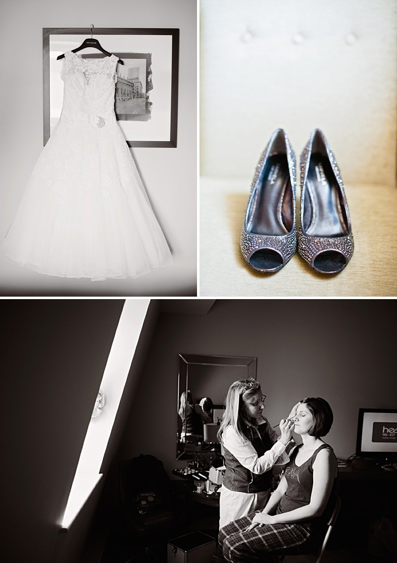 A vintage inspired wedding with Shakespeare theme and 50s style dress from Justin Alexander and 50s suits from Ted Baker and photography by Dominique Bader_0002