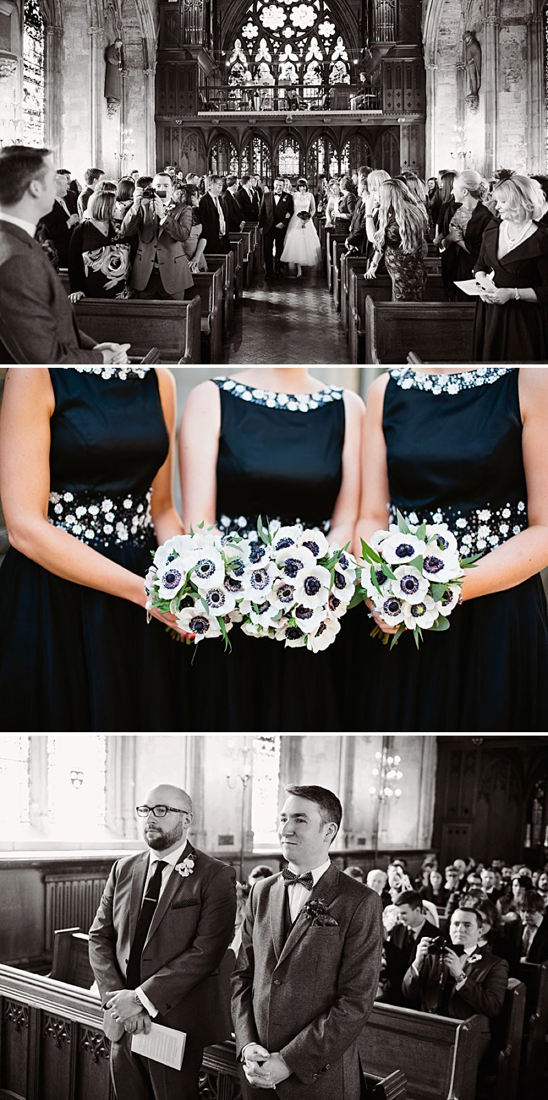 A vintage inspired wedding with Shakespeare theme and 50s style dress from Justin Alexander and 50s suits from Ted Baker and photography by Dominique Bader_0005