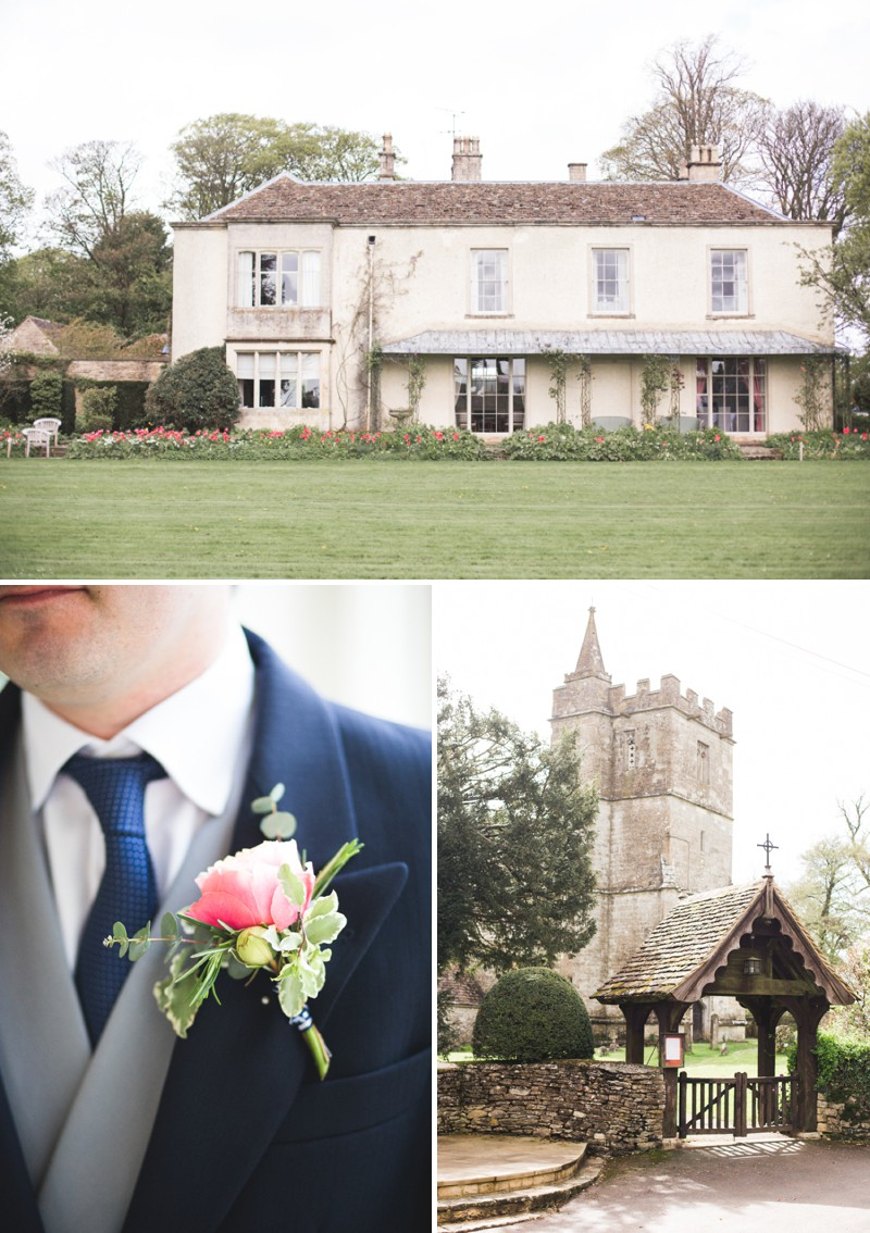 An Elegant English Wedding At The Matara Centre In The Cotswolds With A Bespoke Jenny Lessin Wedding Skirt and Top And Hot Pink Bridesmaid Dresses And A Gin And Tonic Cocktail Bar By M&J Photography._0003