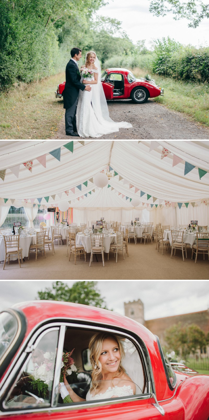 An English Back Garden Wedding With A Romona Keveza Dress And Jimmy Choos And A Pink Rose Bouquet With Mint Bridesmaid Dresses By KRAAN Wedding Photography._0008