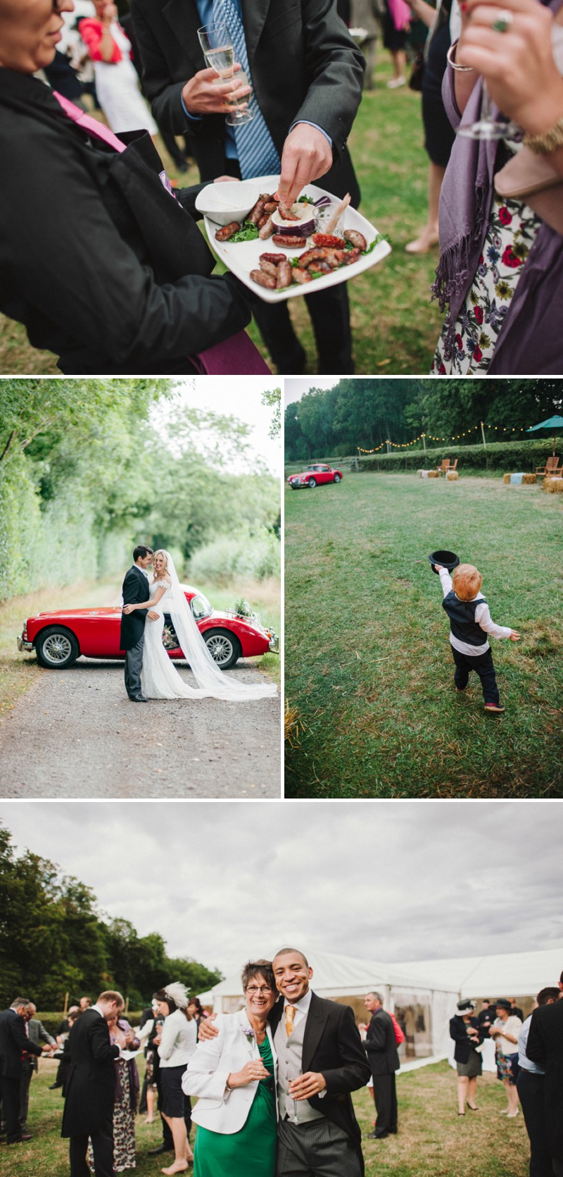 An English Back Garden Wedding With A Romona Keveza Dress And Jimmy Choos And A Pink Rose Bouquet With Mint Bridesmaid Dresses By KRAAN Wedding Photography._0010
