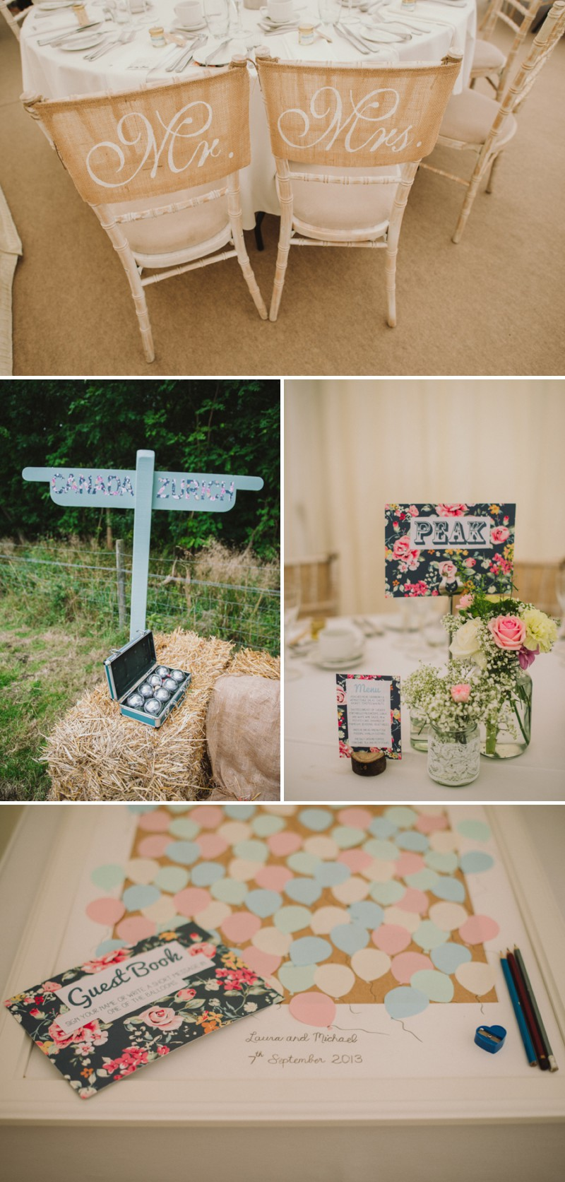 An English Back Garden Wedding With A Romona Keveza Dress And Jimmy Choos And A Pink Rose Bouquet With Mint Bridesmaid Dresses By KRAAN Wedding Photography._0011
