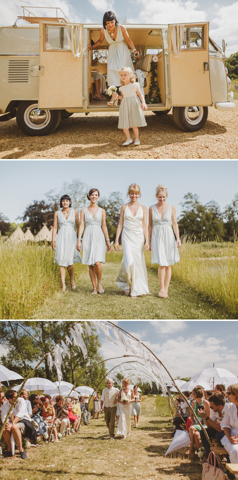 An Epic DIY Bohemian Wedding At Ratfyn Farm With A Jenny Packham Dress And A Humanist Ceremony And A Peach Colour Scheme Photographed By Ed Peers._0004