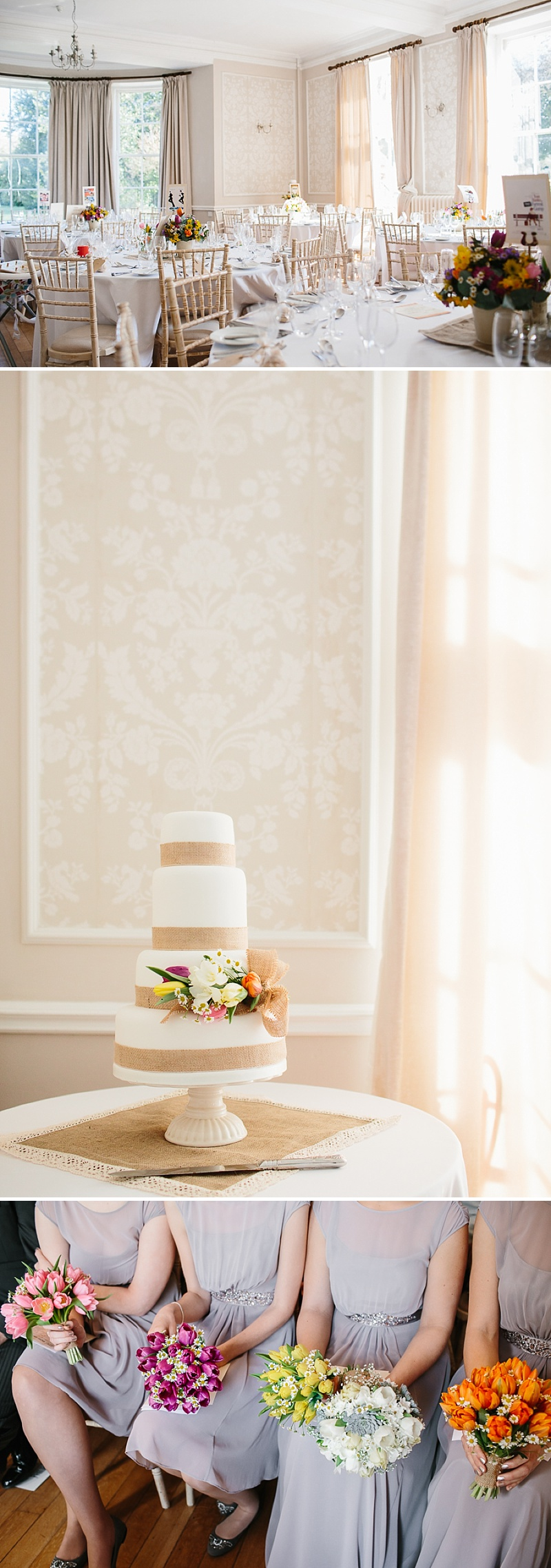 An elegant welsh wedding at Eastington park with a vintage country theme and a lace fishtail justin alexander wedding dress with spring flowers and a tupli bouquet_0115