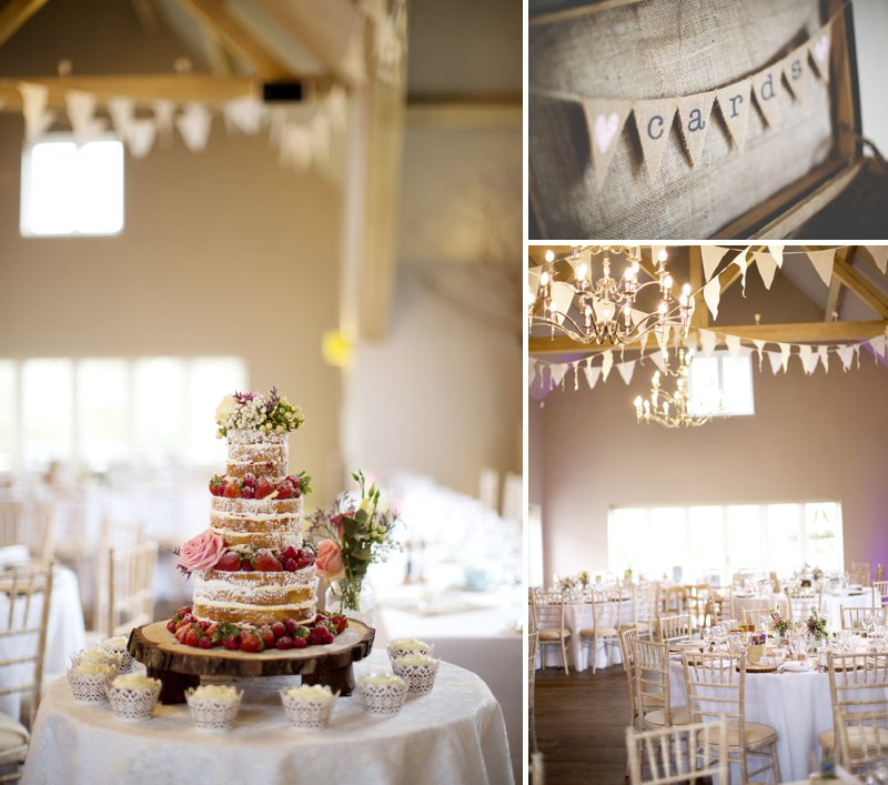 Rustic Wedding At Hyde Barn In Stow On The Wold With A Pale Pink Colour Scheme And Bride In Samantha By Sassi Holford With Bridesmaids In Pale Pink Twobirds Dresses With Groom In Navy Reiss Suit 12