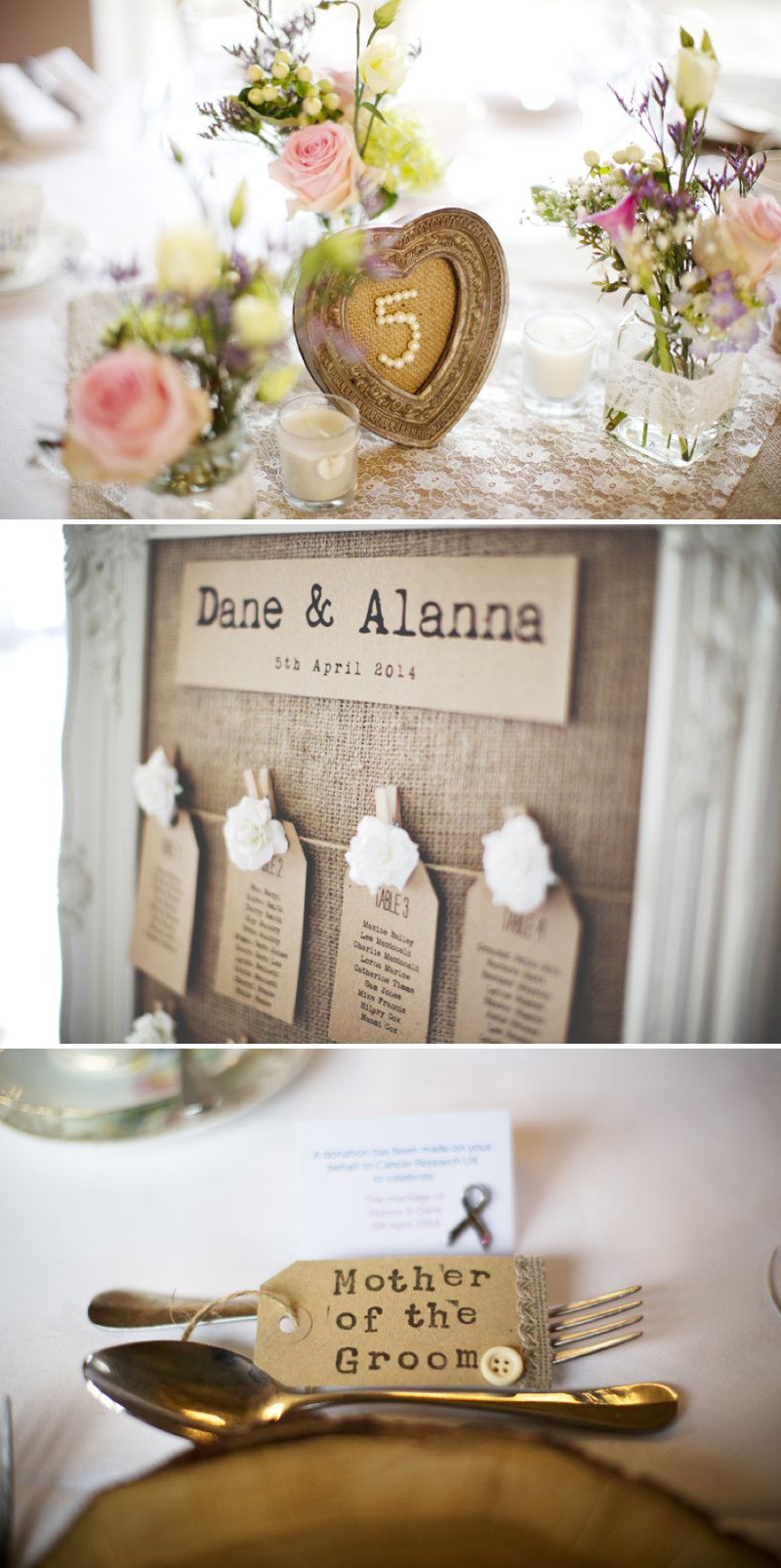 Rustic Wedding At Hyde Barn In Stow On The Wold With A Pale Pink Colour Scheme And Bride In Samantha By Sassi Holford With Bridesmaids In Pale Pink Twobirds Dresses With Groom In Navy Reiss Suit 9