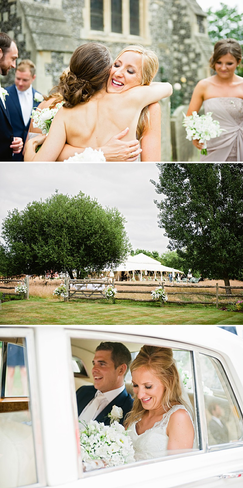 A Contemporary And Modern Garden Marquee Wedding With A Green And White Colour Scheme And A Stephanie Allin Dress And Jimmy Choos With Photography By Dominique Bader._0004