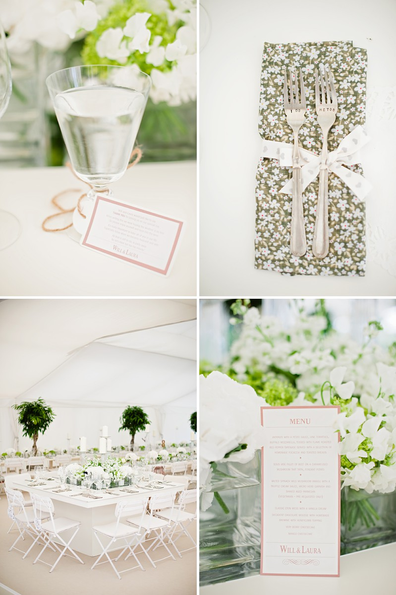 A Contemporary And Modern Garden Marquee Wedding With A Green And White Colour Scheme And A Stephanie Allin Dress And Jimmy Choos With Photography By Dominique Bader._0009