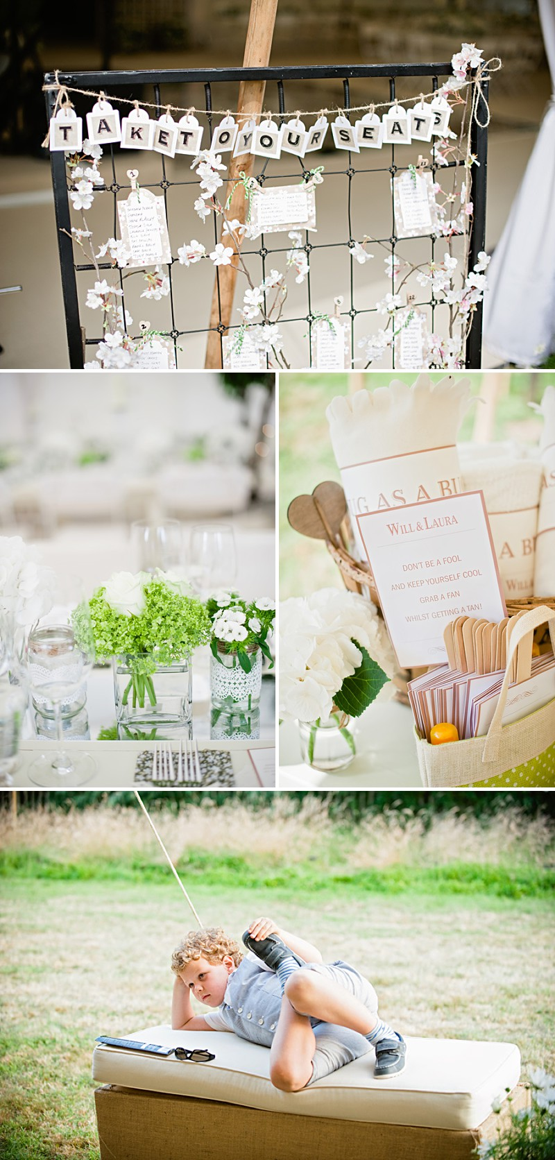 A Contemporary And Modern Garden Marquee Wedding With A Green And White Colour Scheme And A Stephanie Allin Dress And Jimmy Choos With Photography By Dominique Bader._0014