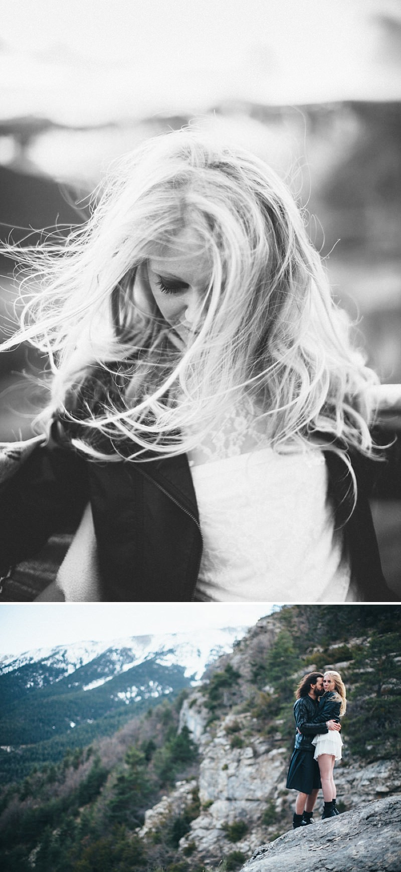 A French wedding alternative inspiration shoot in the mountains with a kilt_0186