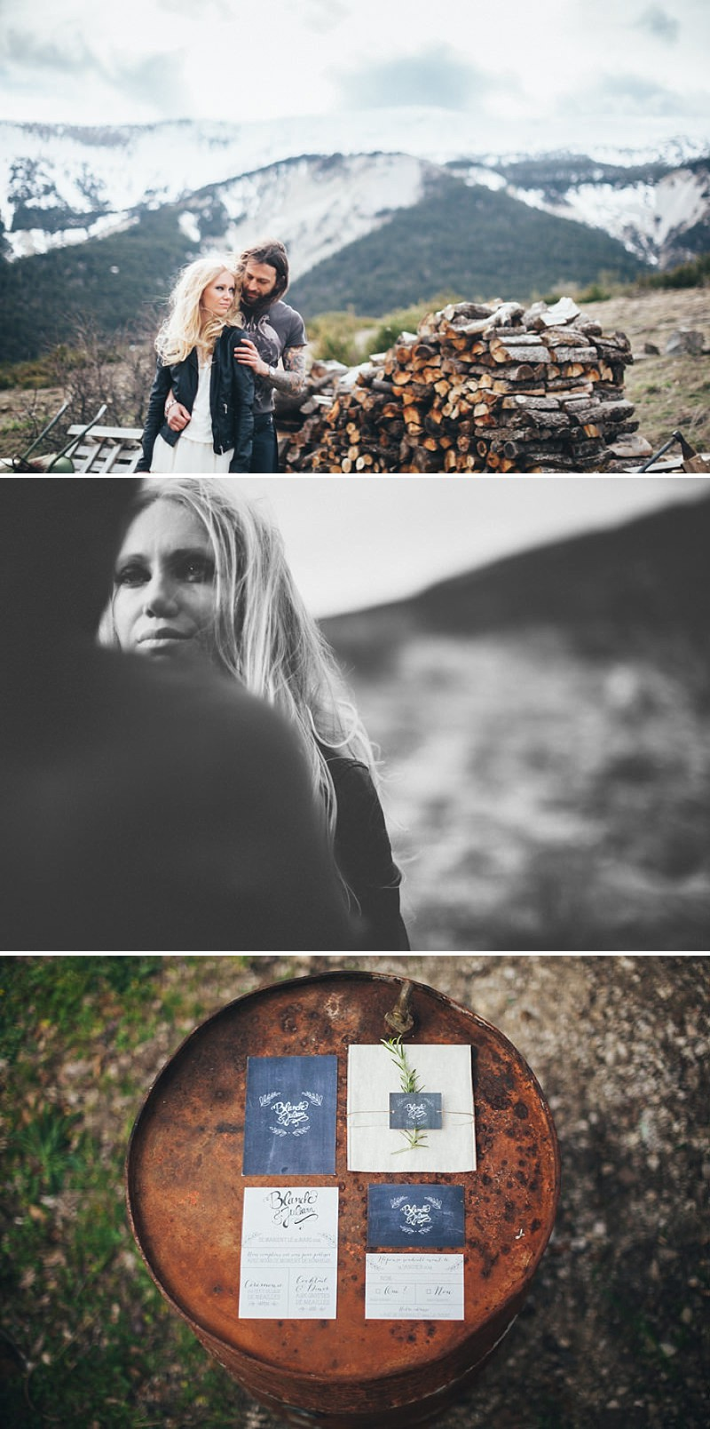 A French wedding alternative inspiration shoot in the mountains with a kilt_0192