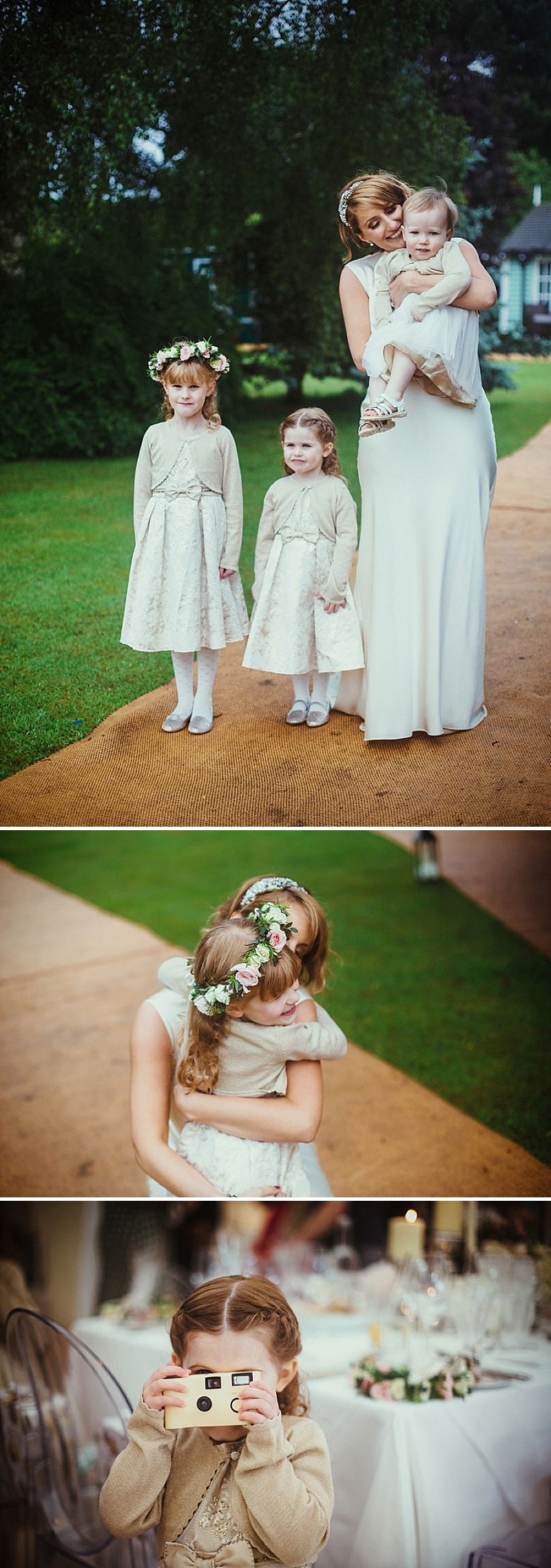 A Vintage Inspired Marquee Wedding At The Bride's Family Home With Bride In David Fielden And Jimmy Choo And Bridesmaids In Sequinned Adrianna Pappell Gowns With Groom And Groomsmen In Suits By Dress To Kill 5