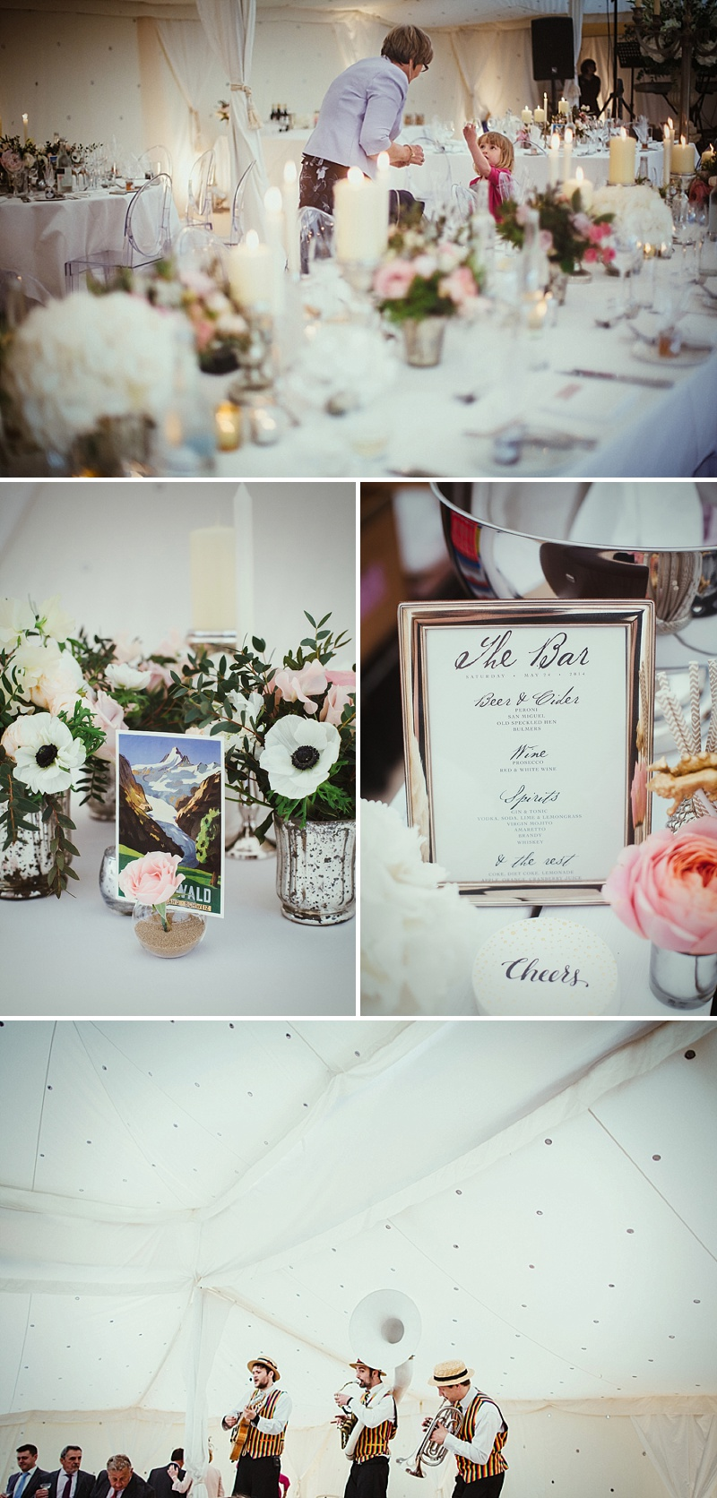 A Vintage Inspired Marquee Wedding At The Bride's Family Home With Bride In David Fielden And Jimmy Choo And Bridesmaids In Sequinned Adrianna Pappell Gowns With Groom And Groomsmen In Suits By Dress To Kill 6
