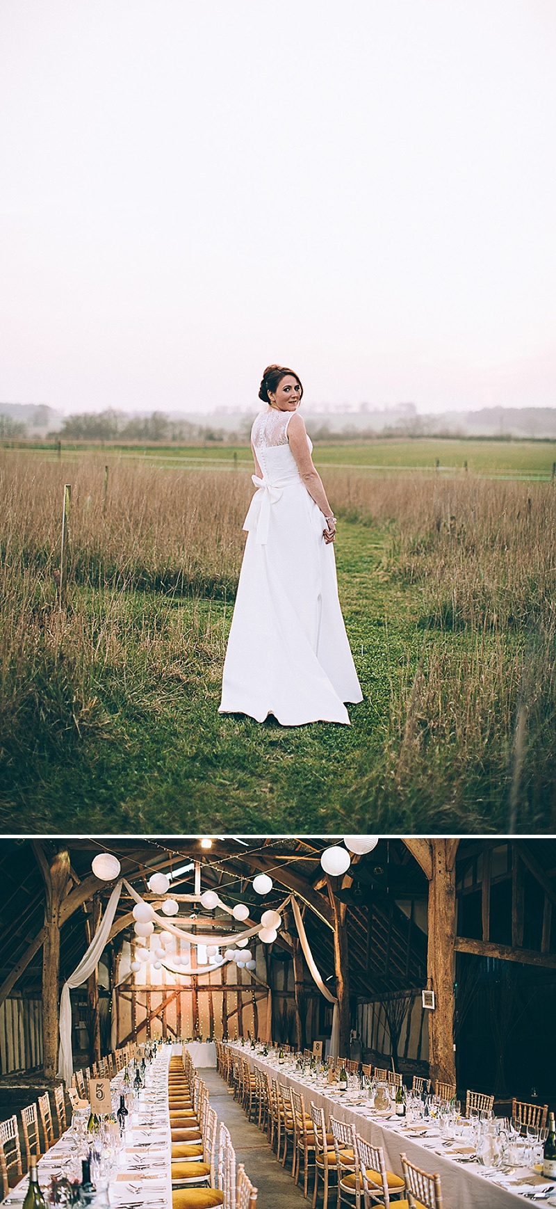 A wedding at Alpheton Hall Barns in Suffolk with a Jesus Peiro ballgown dress navy bridesmaids and DIY_0150