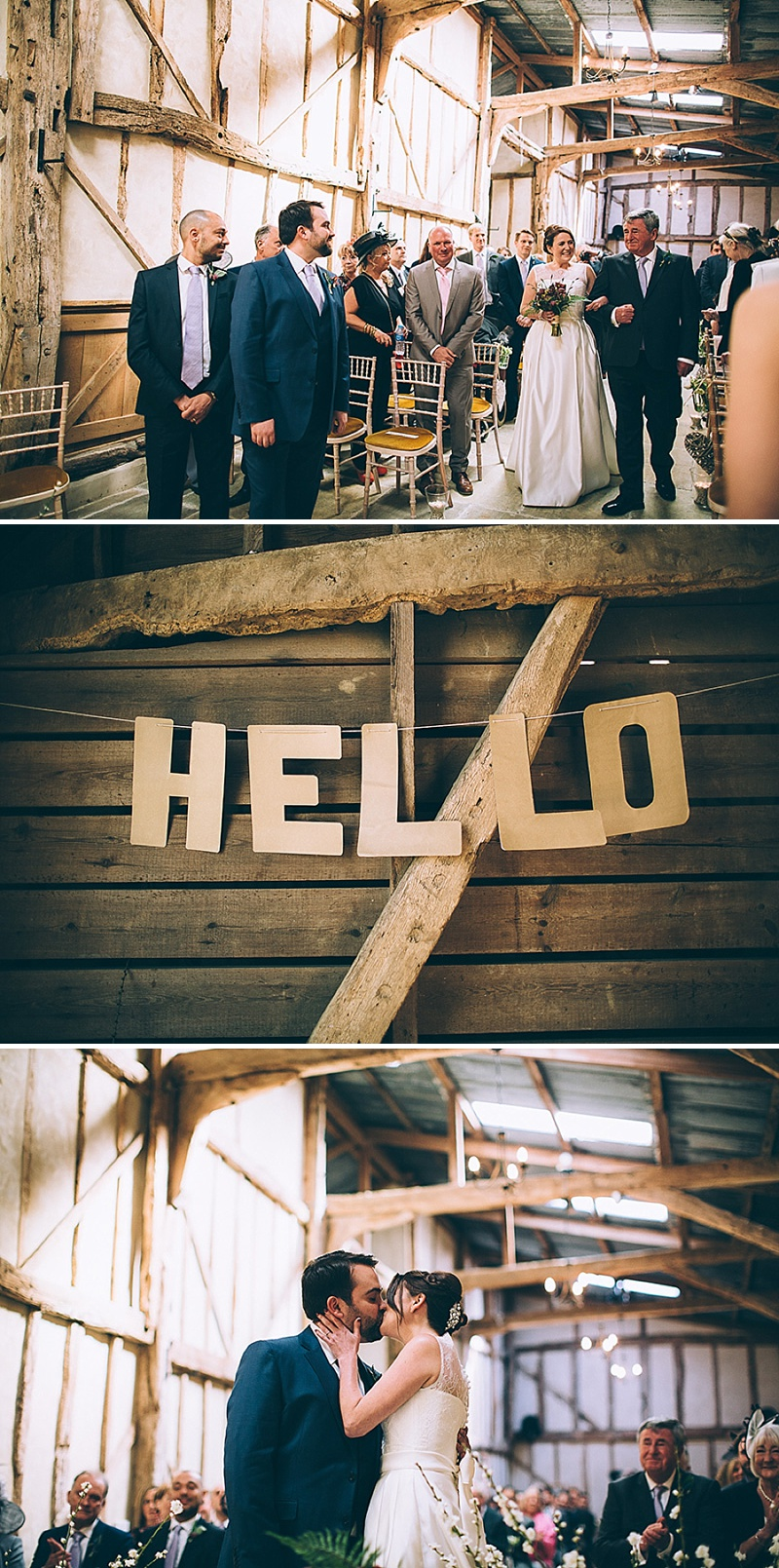 A wedding at Alpheton Hall Barns in Suffolk with a Jesus Peiro ballgown dress navy bridesmaids and DIY_0155