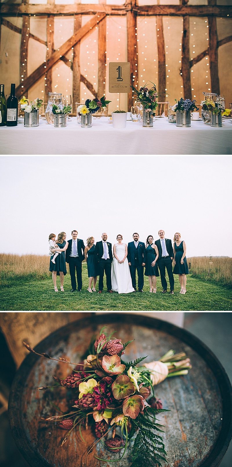A wedding at Alpheton Hall Barns in Suffolk with a Jesus Peiro ballgown dress navy bridesmaids and DIY_0160