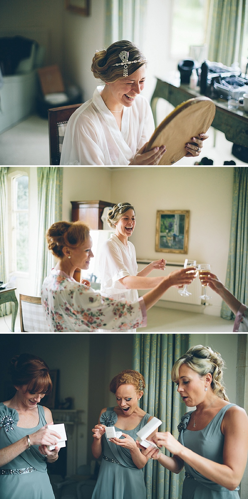 Art Deco and 1920s Inspired Wedding At The Matara Centre Gloucestershire With Bride In Joy By Jenny Packham and Bridesmaids in No 1 by Jenny Packham At Debenhams With Vintage Details and Speakeasy Themed Cocktails 2