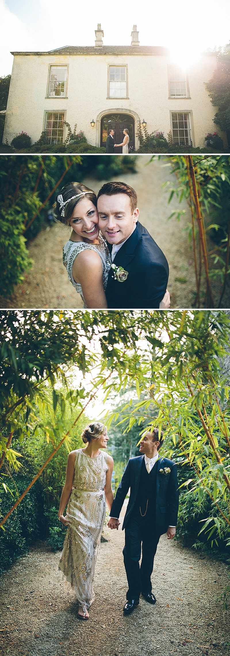Art Deco and 1920s Inspired Wedding At The Matara Centre Gloucestershire With Bride In Joy By Jenny Packham and Bridesmaids in No 1 by Jenny Packham At Debenhams With Vintage Details and Speakeasy Themed Cocktails 7