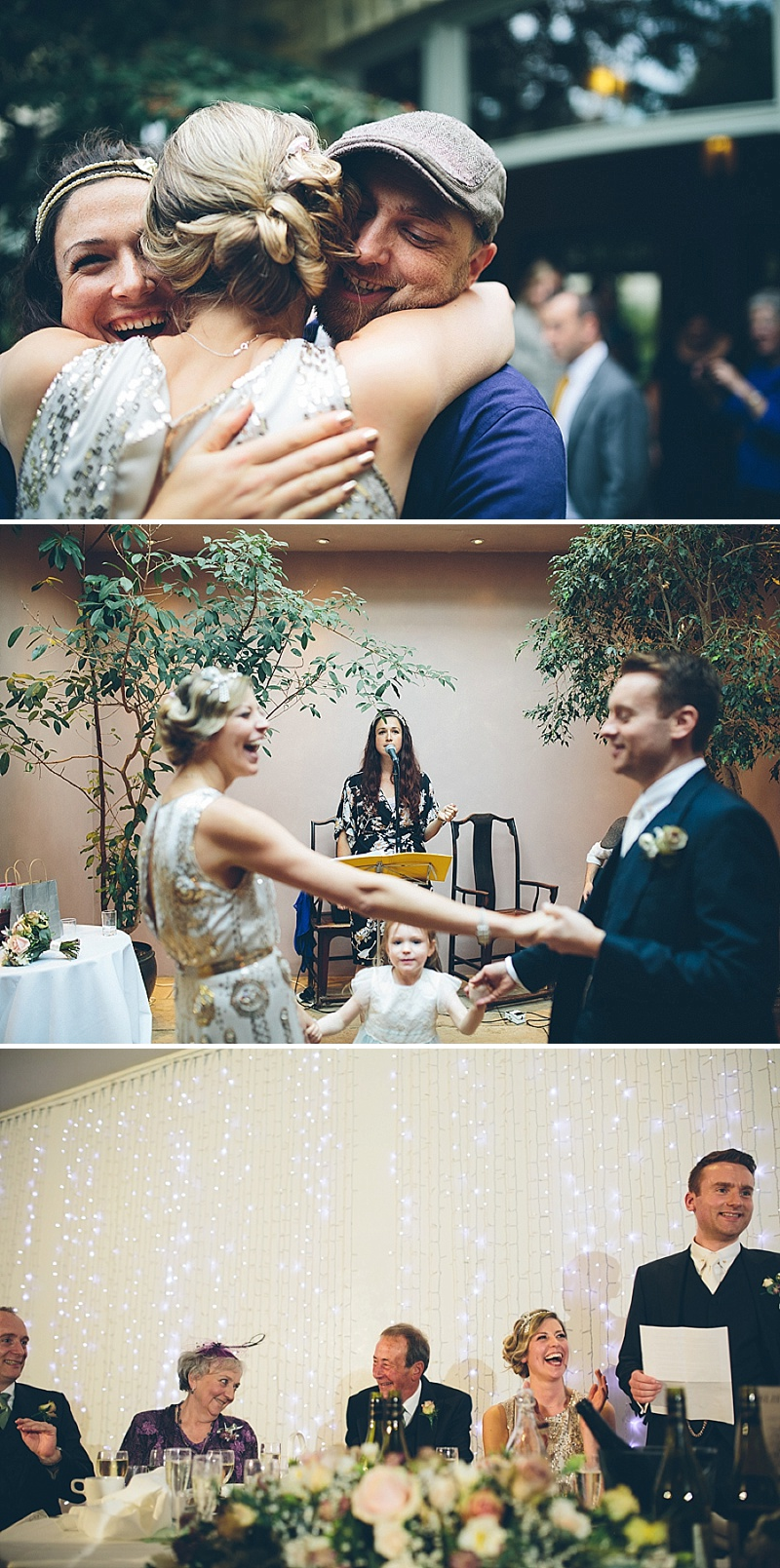 Art Deco and 1920s Inspired Wedding At The Matara Centre Gloucestershire With Bride In Joy By Jenny Packham and Bridesmaids in No 1 by Jenny Packham At Debenhams With Vintage Details and Speakeasy Themed Cocktails 8