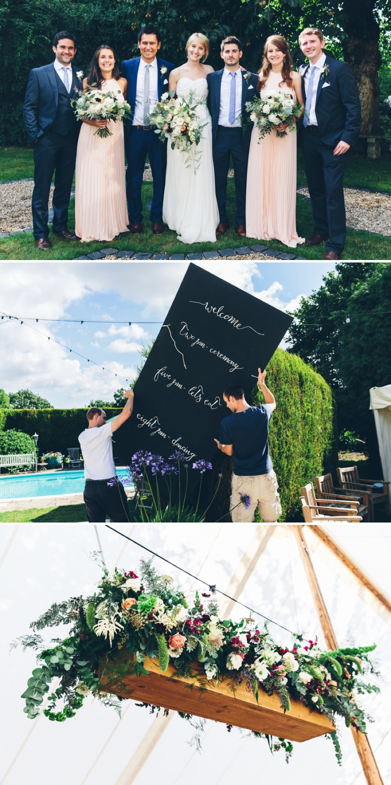 Beautifully Styled Elegant Yet Relaxed Marquee Wedding In Nottinghamshire With Bride In Nanette By Catherine Deane And Groom In Navy Suit By Reiss With A Floral Arch And Flower Box Created By Floraldeco 1