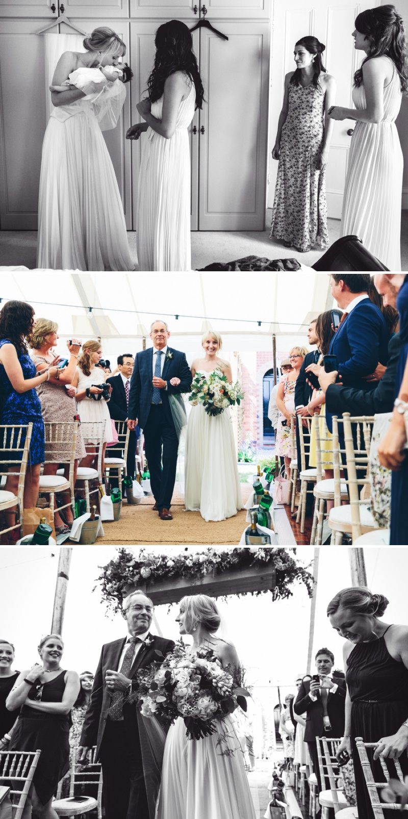 Beautifully Styled Elegant Yet Relaxed Marquee Wedding In Nottinghamshire With Bride In Nanette By Catherine Deane And Groom In Navy Suit By Reiss With A Floral Arch And Flower Box Created By Floraldeco 3