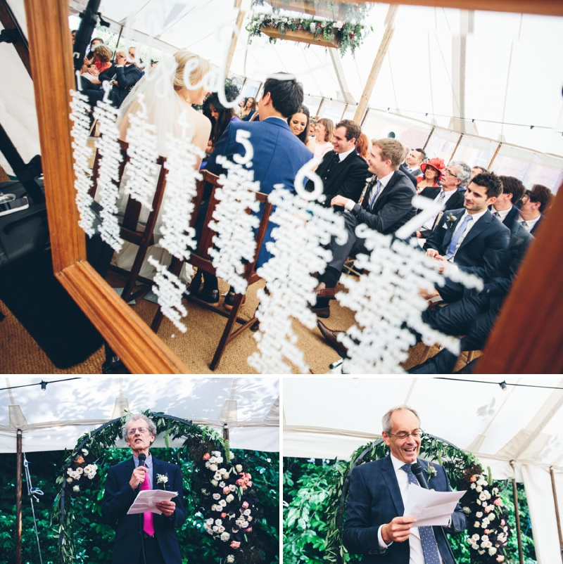 Beautifully Styled Elegant Yet Relaxed Marquee Wedding In Nottinghamshire With Bride In Nanette By Catherine Deane And Groom In Navy Suit By Reiss With A Floral Arch And Flower Box Created By Floraldeco 5