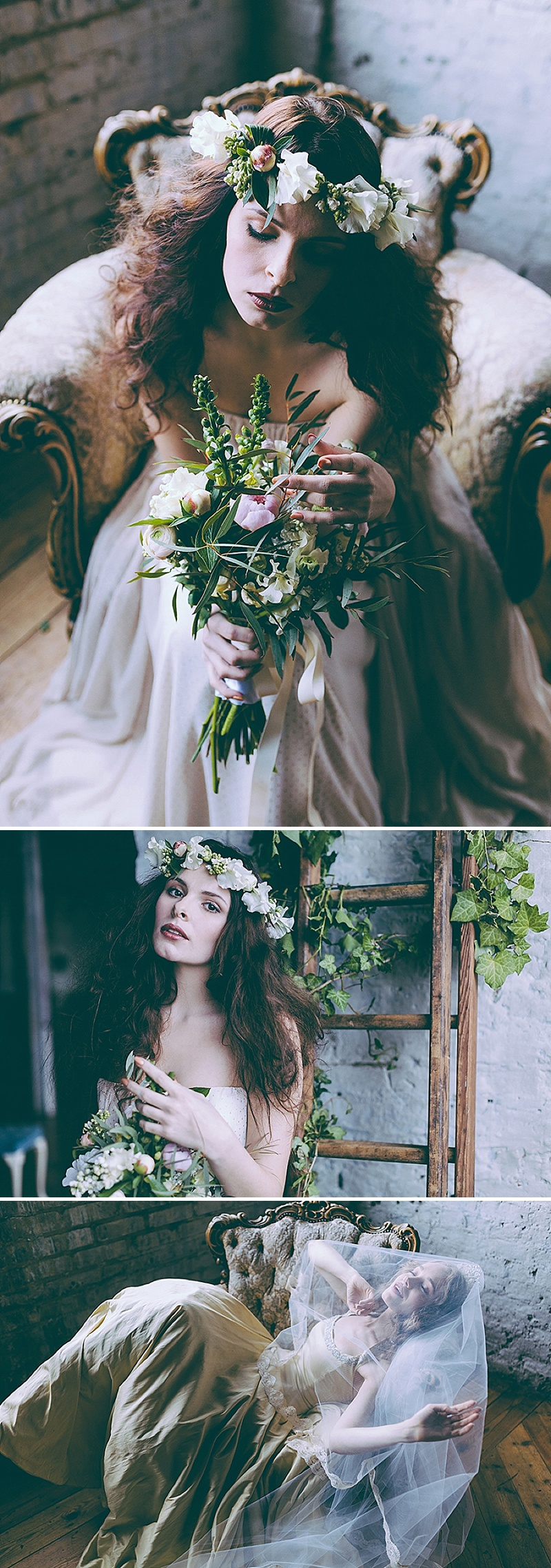 Rustic And Romantic Fairytale Bridal Inspiration Shoot With Gowns From Faith Caton-Barber And Accessories From Rosie Weisencrantz With Images By Miss Gen Photography 1