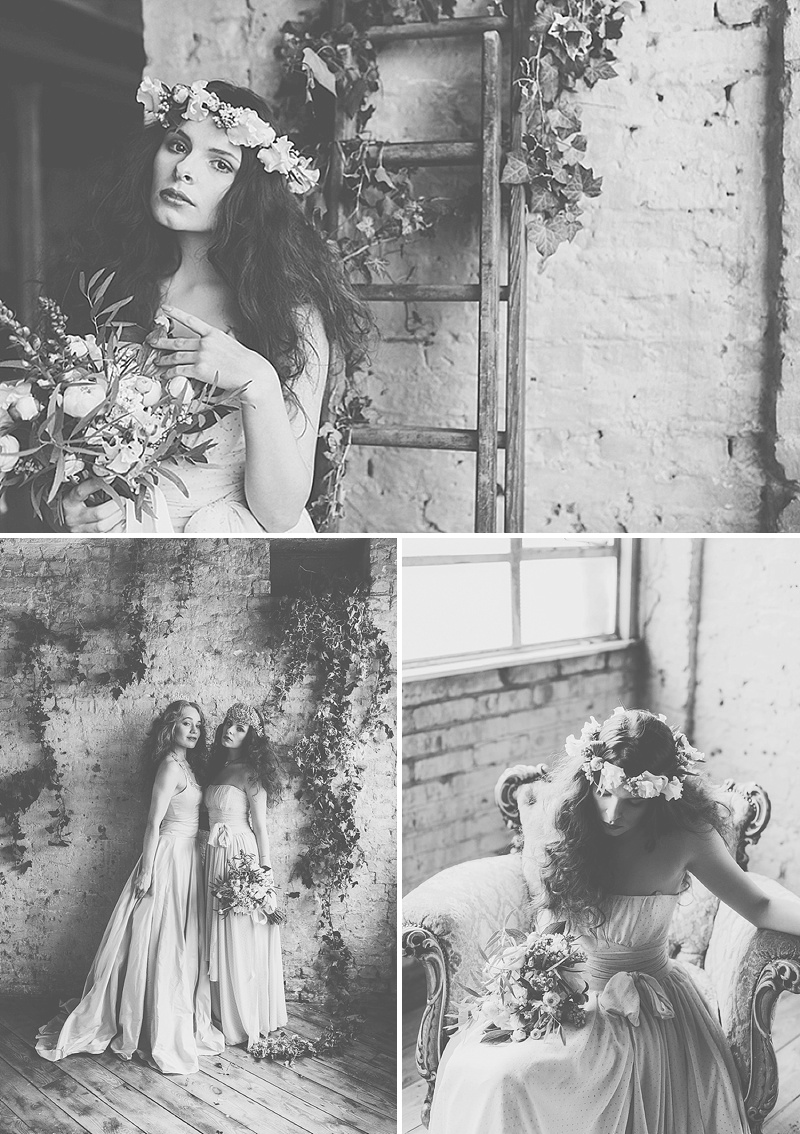 Rustic And Romantic Fairytale Bridal Inspiration Shoot With Gowns From Faith Caton-Barber And Accessories From Rosie Weisencrantz With Images By Miss Gen Photography 11
