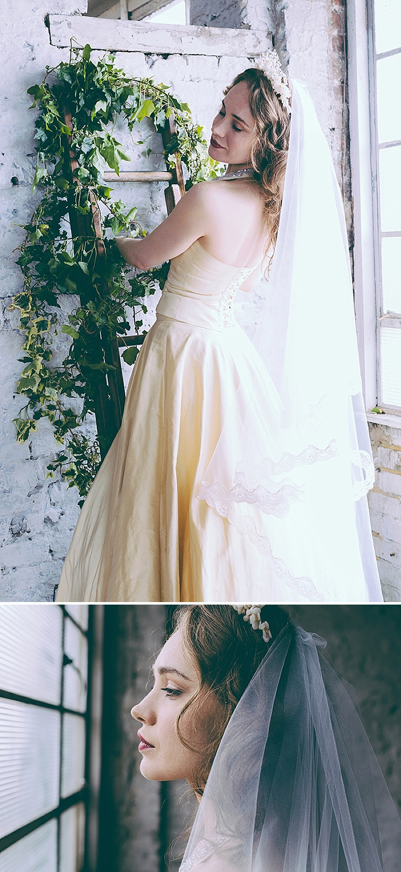Rustic And Romantic Fairytale Bridal Inspiration Shoot With Gowns From Faith Caton-Barber And Accessories From Rosie Weisencrantz With Images By Miss Gen Photography 2