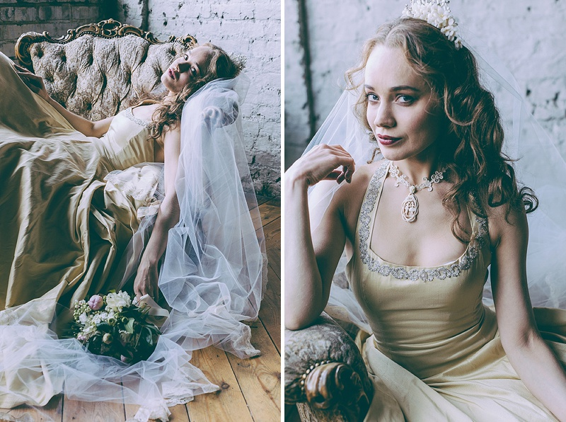 Rustic And Romantic Fairytale Bridal Inspiration Shoot With Gowns From Faith Caton-Barber And Accessories From Rosie Weisencrantz With Images By Miss Gen Photography 3
