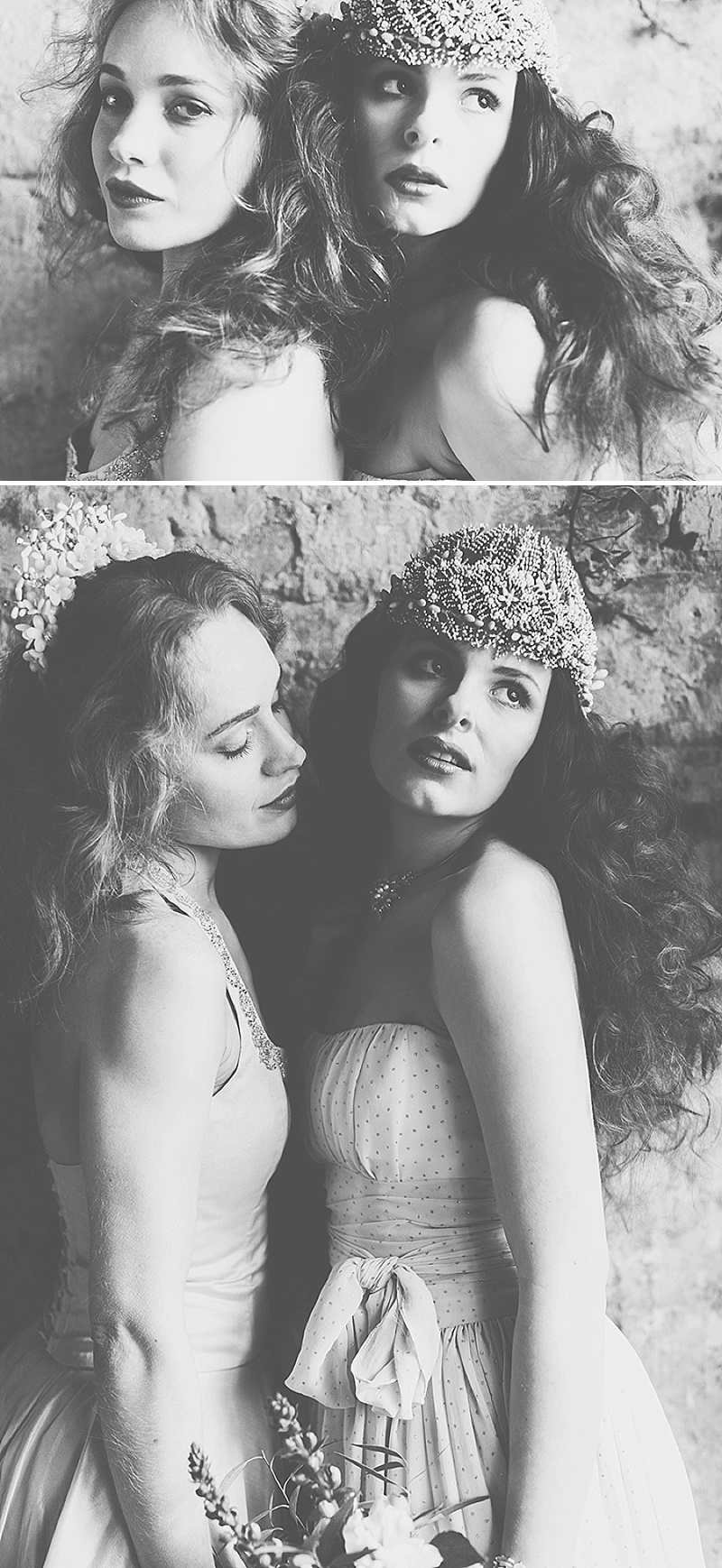 Rustic And Romantic Fairytale Bridal Inspiration Shoot With Gowns From Faith Caton-Barber And Accessories From Rosie Weisencrantz With Images By Miss Gen Photography 5