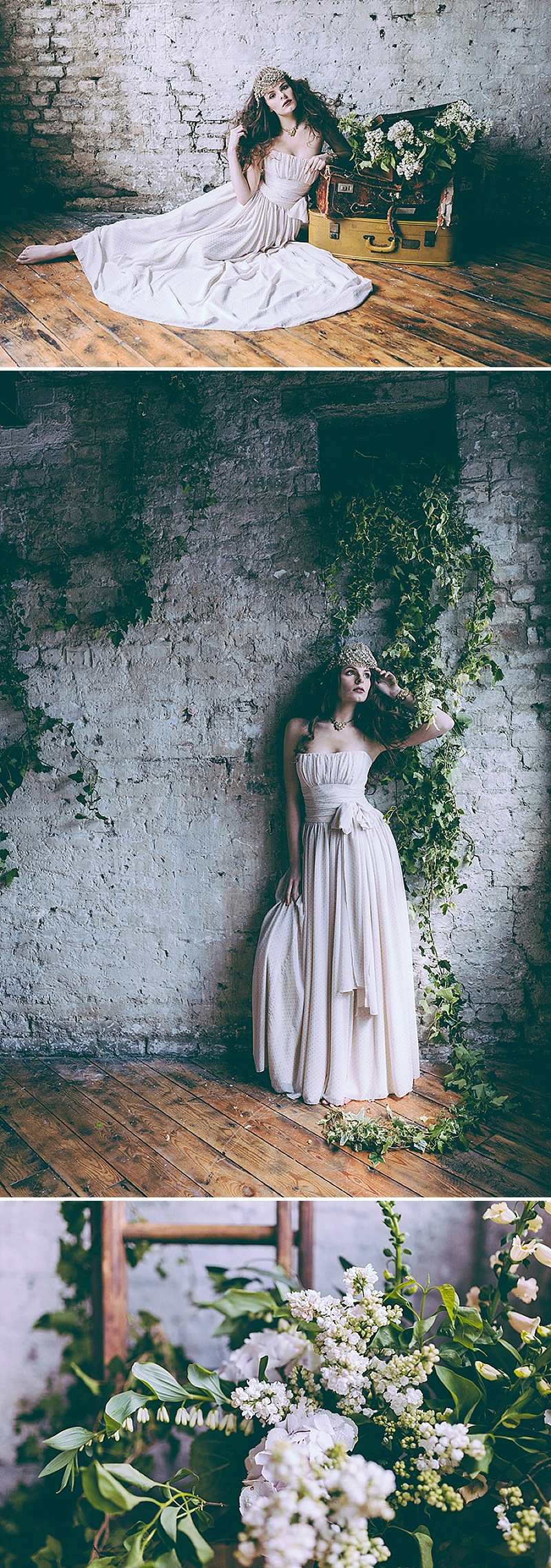 Rustic And Romantic Fairytale Bridal Inspiration Shoot With Gowns From Faith Caton-Barber And Accessories From Rosie Weisencrantz With Images By Miss Gen Photography 6