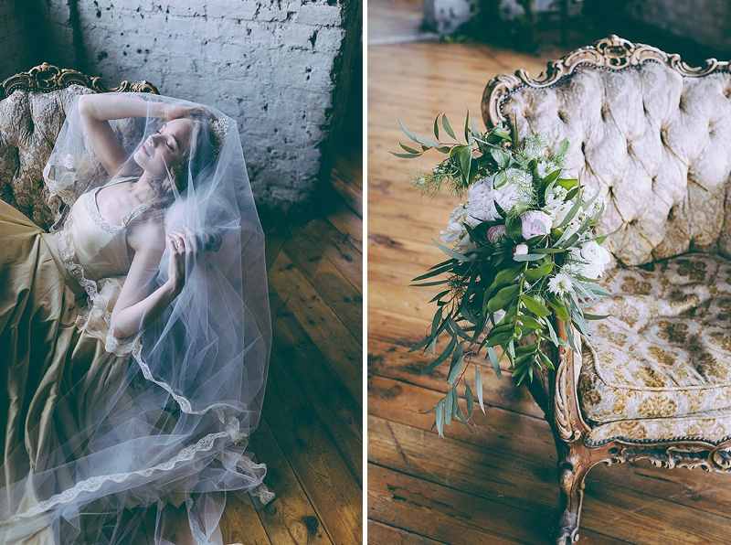 Rustic And Romantic Fairytale Bridal Inspiration Shoot With Gowns From Faith Caton-Barber And Accessories From Rosie Weisencrantz With Images By Miss Gen Photography 7