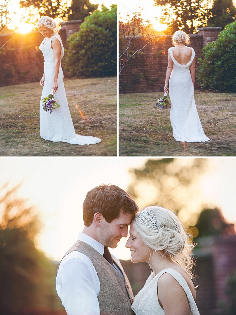 Rustic Wedding At Studland Bay House In Dorset With Bride In Charlie Brear With Hermione Harbutt Accessories And Groom In Victor Valentine Suit With Bridesmaids In French Connection 9