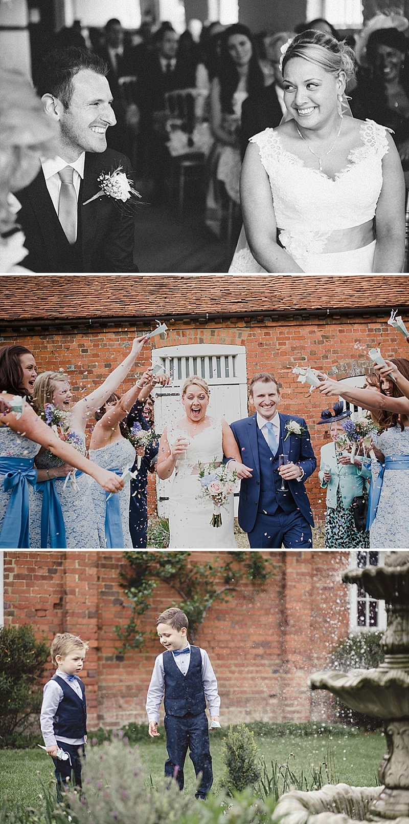 Rustic Wedding With A Baby Pink And Blue Colour Scheme At Lillibrooke Manor In Maidenhead With Bride In Essence Of Australia D1367 And Blue Abode Shoes From Dune And Bridesmaids In Dessy With Groom In Suit From Next 4